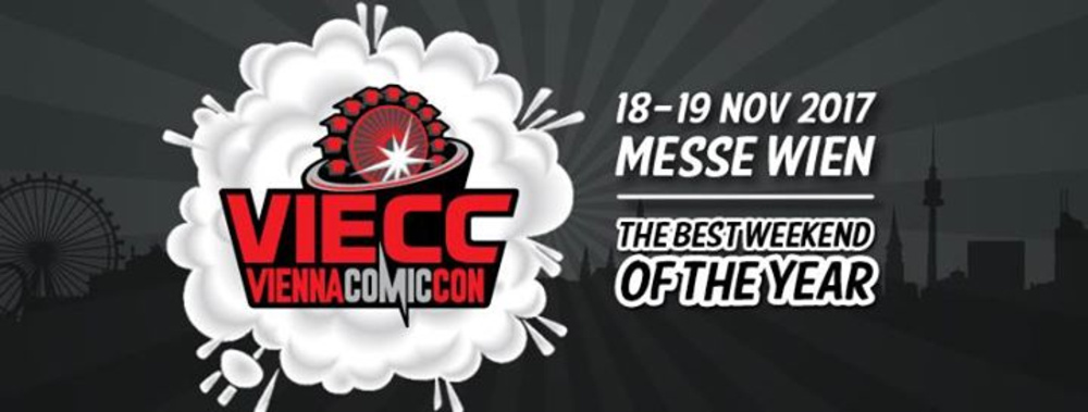 VIECC Vienna Comic Con 2017 am 18.11.2017 @ Messe Wien