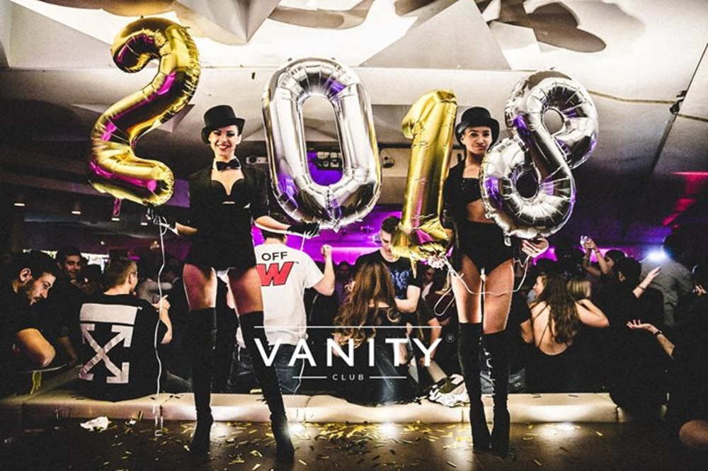 VANITY - Kicking off 2k18 am 06.01.2018 @ Passage