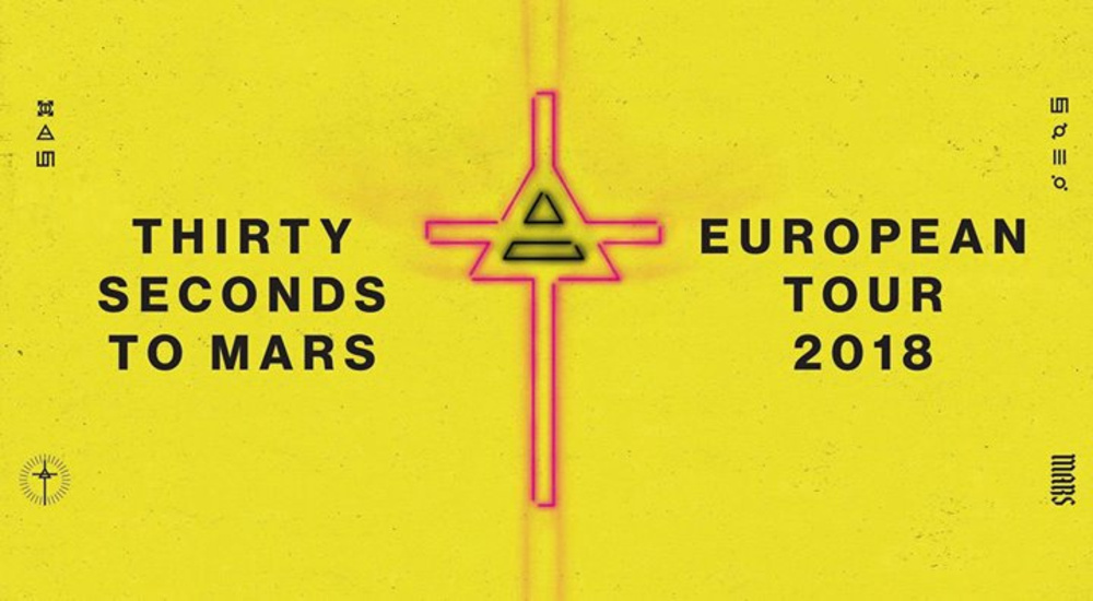 Thirty Seconds To Mars - European Tour 2018 | Wiener Stadthalle am 17.04.2018 @ Stadthalle Wien