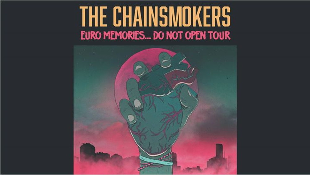 The Chainsmokers | Wien, Marx Halle am 10.02.2018 @ Marx Halle