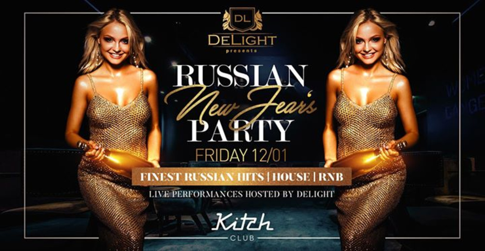 Russian New Year's Party am 12.01.2018 @ Kitch Club