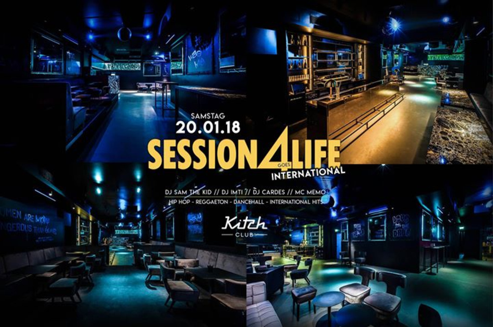 Session 4 Life goes International ★ Sa/20/01 ★ Kitch Club 1010 am 20.01.2018 @ Kitch Club