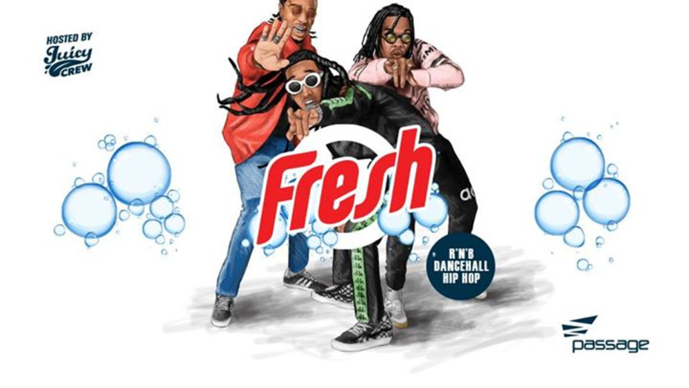 Fresh Fridays hosted by Juicy Crew am 26.01.2018 @ Passage