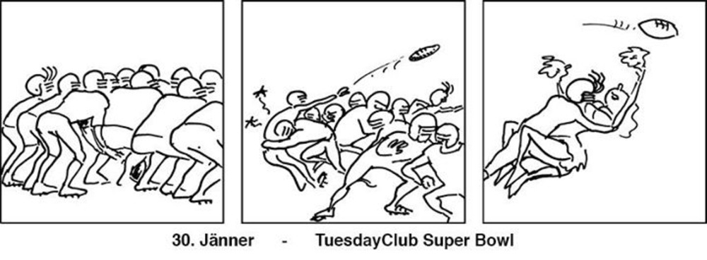 Tuesday4Club - Der Super Bowl am 30.01.2018 @ U4