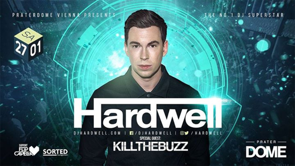 Hardwell pres. by Prater DOME am 27.01.2018 @ Praterdome