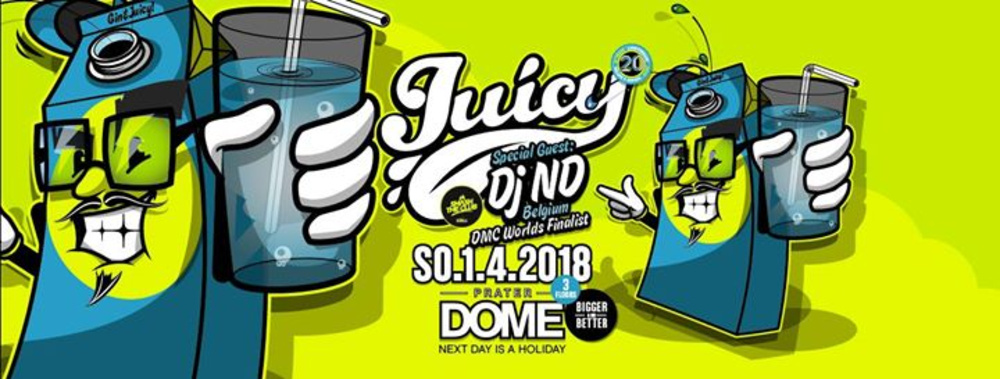 Juicy Bigger & Better I SO 1.4.2018 I Praterdome am 01.04.2018 @ Prater Dome