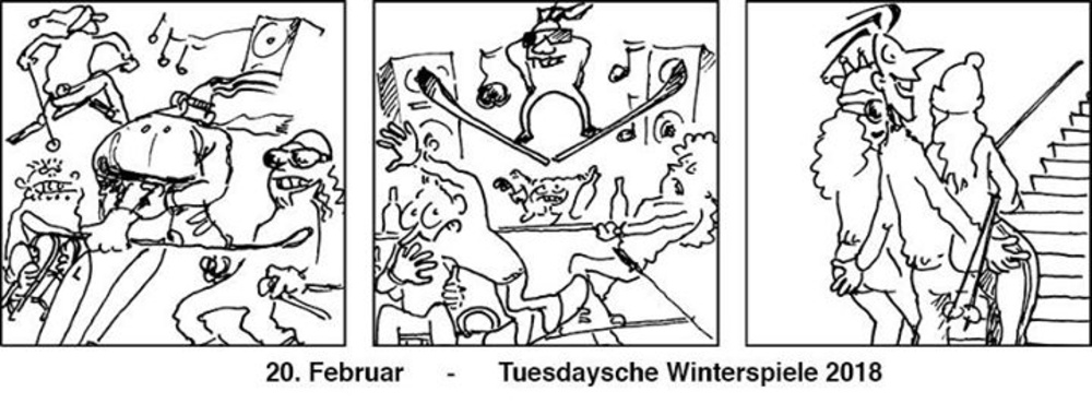 Tuesday4Club - Tuesdaysche Winterspiele 2018 am 20.02.2018 @ U4