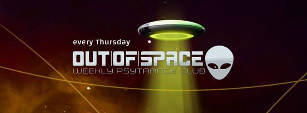 OUT of SPACE Bassproduction Special am 26.04.2018 @ Weberknecht