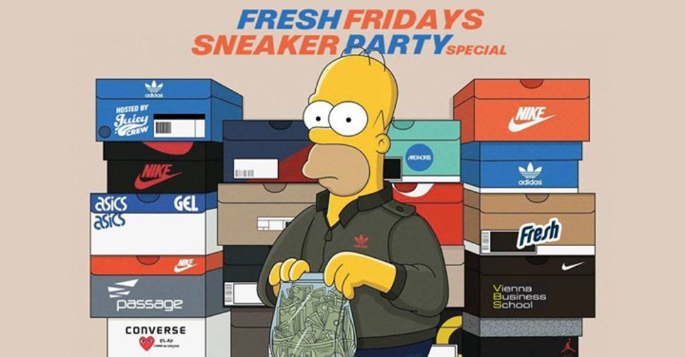 Fresh Fridays Sneaker Special 16. März in der Passage am 16.03.2018 @ Passage
