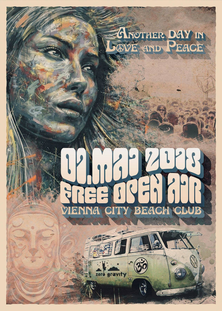 1.Mai Free Open Air 2018 am 01.05.2018 @ Vienna City Beach Club