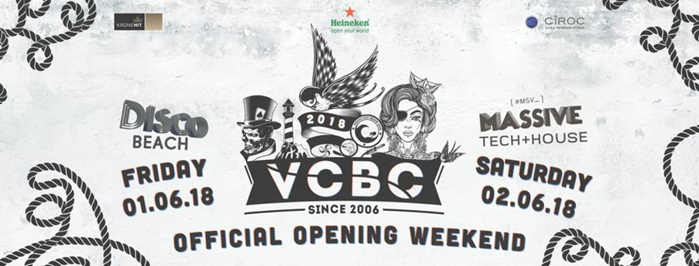 VCBC ★ Opening Weekend ★ 01/02 Juni 2018 am 01.06.2018 @ Vienna City Beach Club