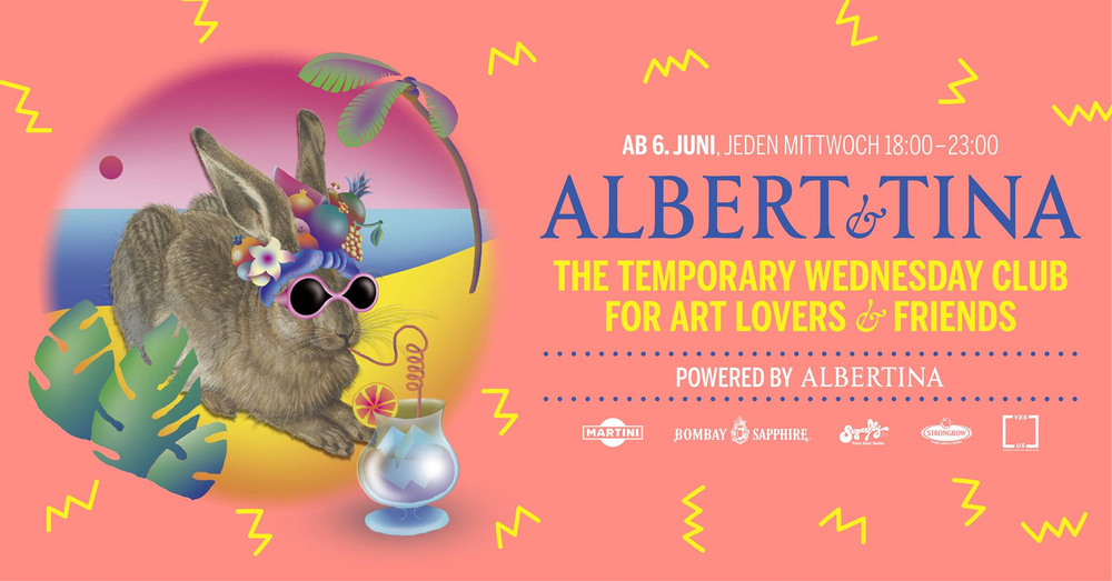 Albert & Tina 2018 am 04.07.2018 @ Albertina Museum