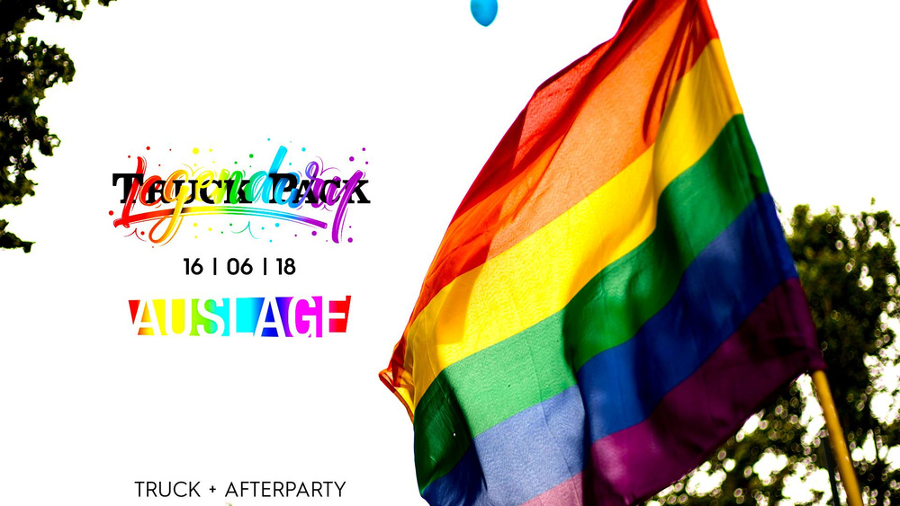 Regenbogenparade x Legendary Truck Pack x Aftershow x Free Party am 16.06.2018 @ Auslage