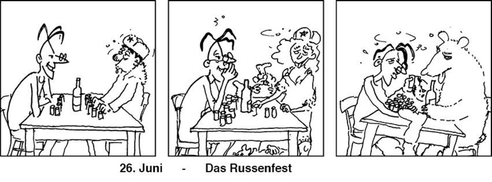 Tuesday4Club - Das Russenfest am 26.06.2018 @ U4