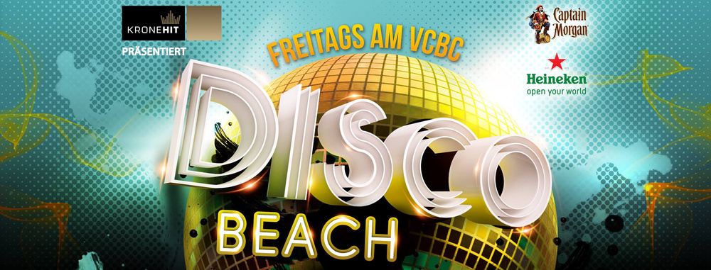 Disco Beach ♛ Freitags im Juni 2018 ♛ VCBC am 20.07.2018 @ Vienna City Beach Club