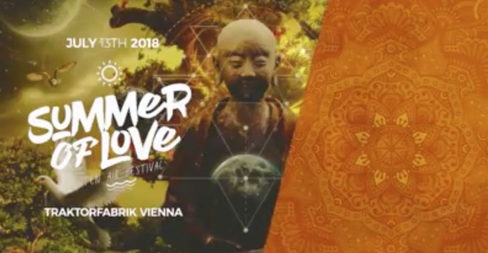 Summer of Love 2018 - Open Air Festival Vienna: Day 1 am 13.07.2018 @ Traktorfabrik