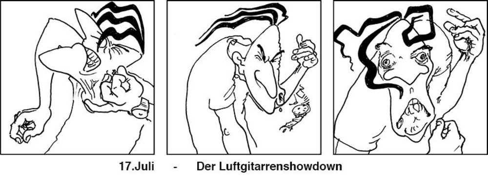 Tuesday4Club - Luftgitarren-Showdown am 17.07.2018 @ U4