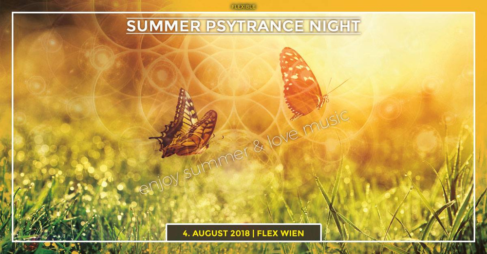 "Flexible ""Summer Psytrance Night"" hosted by Jaya am 04.08.2018 @ Flex"