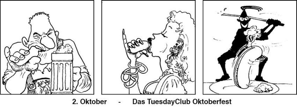 Tuesday4Club - Oktoberfest am 02.10.2018 @ U4