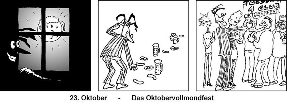 Tuesday4Club - Oktobervollmondfest am 23.10.2018 @ TuesdayClub
