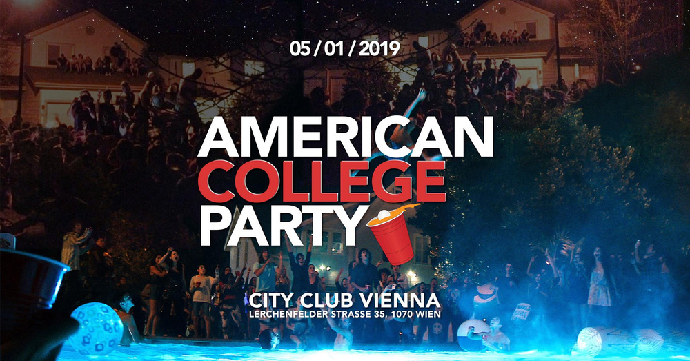 AMERICAN COLLEGE PARTY 16+ am 05.01.2019 @ CityClub Vienna