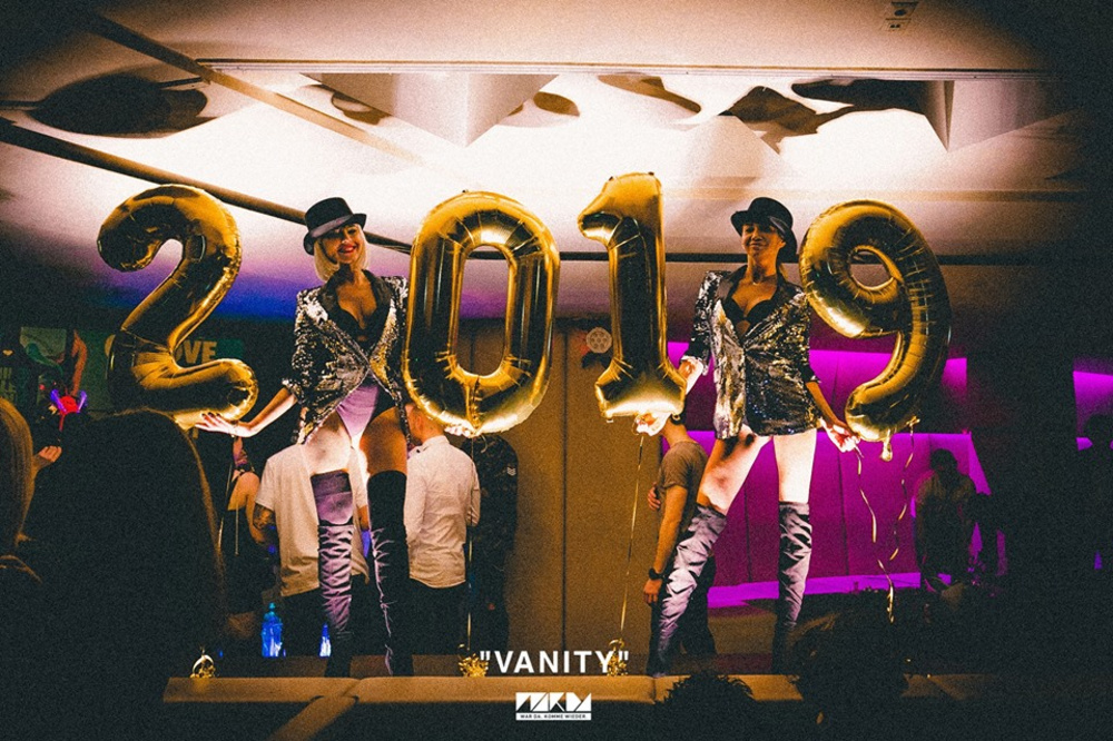 VANITY welcomes 2019 am 05.01.2019 @ Passage
