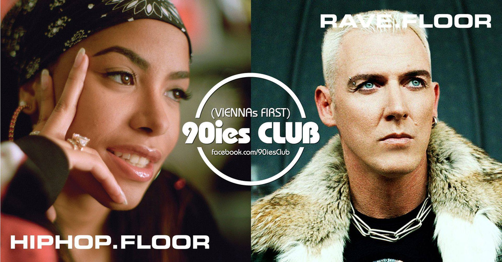 90ies Club mit HIPHOP.floor / Aaliyah Special am 26.01.2019 @ The Loft