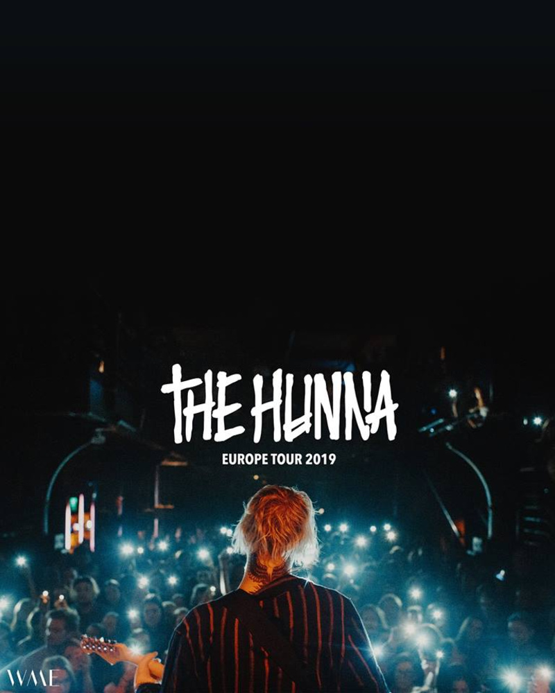 The Hunna (UK) • Wien am 30.04.2019 @ Grelle Forelle