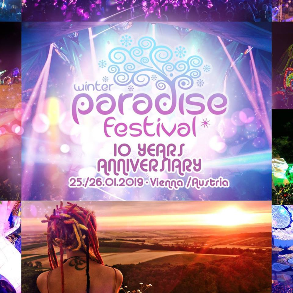 Paradise Winter Festival 2019 - 10 Years Anniversary am 25.01.2019 @ Hallmann Dome