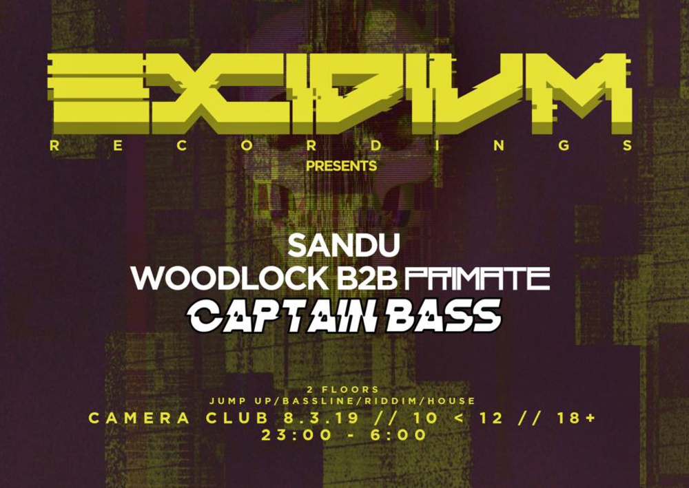 EXCIDIUM #1 BELGIUM meets AUSTRIA am 08.03.2019 @ Camera Club