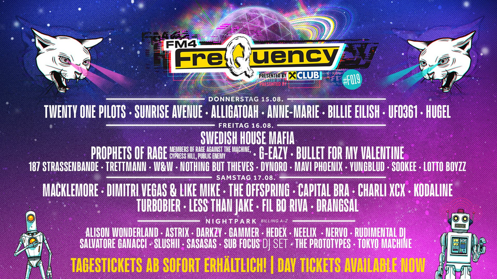 FM4 Frequency Festival 2019 am 15.08.2019 @ VAZ