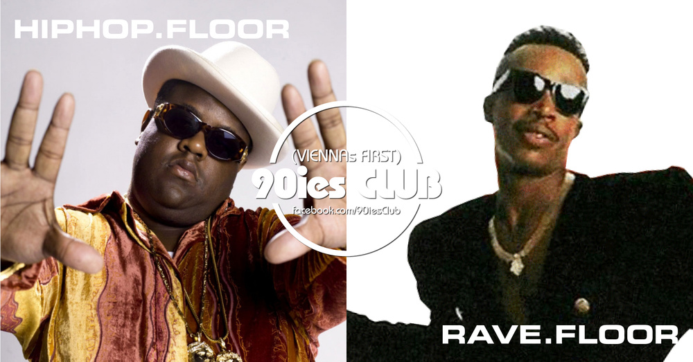 90ies Club mit HIPHOP.floor / Biggie Special am 23.03.2019 @ The Loft
