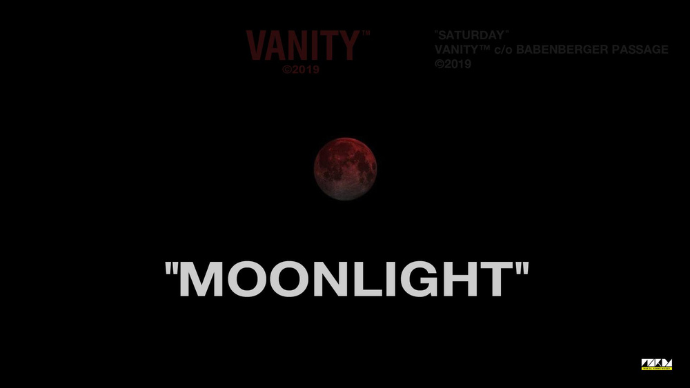 "VANITY™ ""Moonlight"" am 16.03.2019 @ Passage"