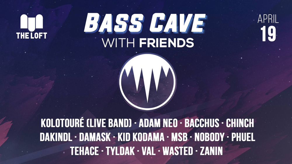 Bass Cave - Drum and Bass w/ Friends (Freie Spende) am 19.04.2019 @ The Loft