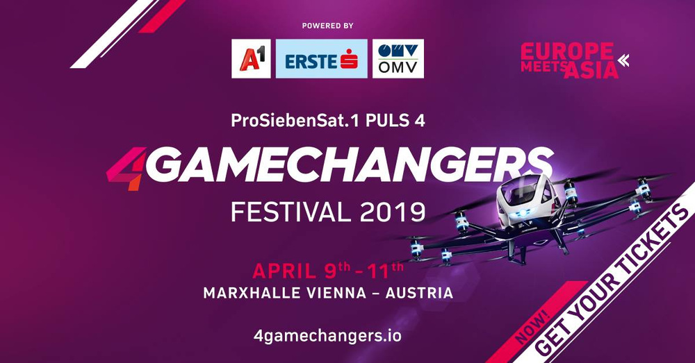 4GAMECHANGERS Festival 2019 am 11.04.2019 @ Marx Halle