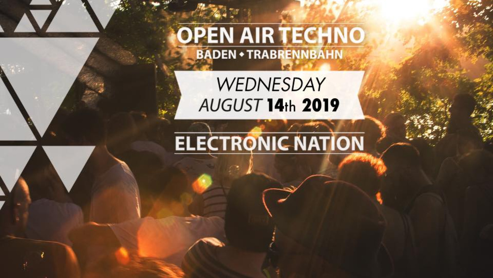 "OPEN AIR Techno Baden - ""the End"" am 14.08.2019 @ Trabrennverein Baden"