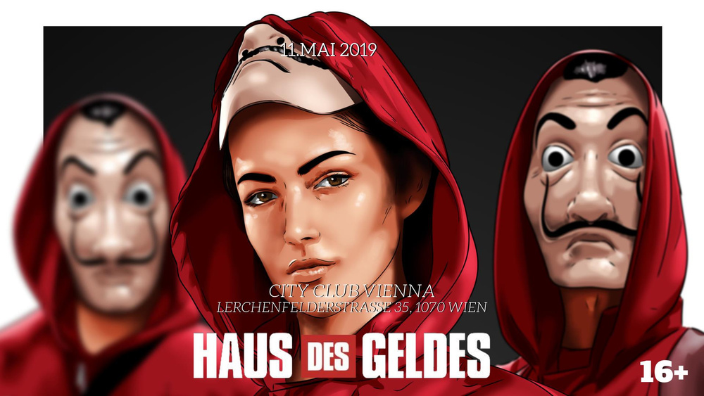HAUS DES GELDES | 11.05.2019 | Geldregen XXL am 11.05.2019 @ City Club Vienna