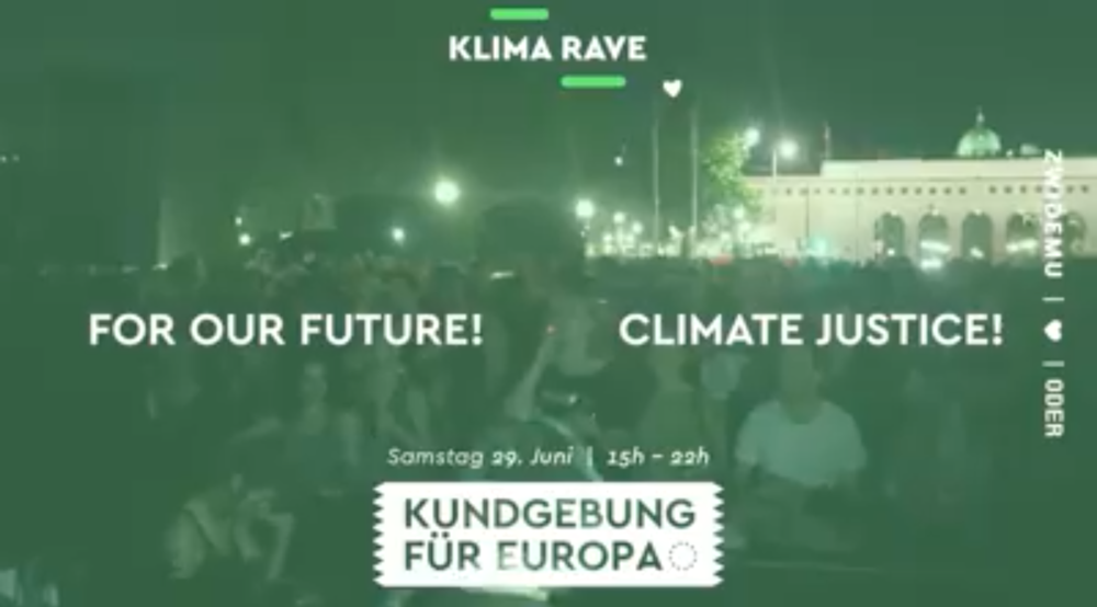Klima Rave 2019 am 29.06.2019 @ Maria-Theresien-Platz