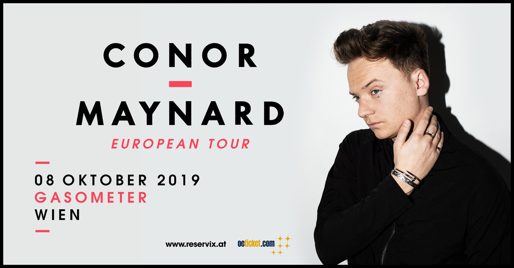 Conor Maynard - European Tour 2019 am 08.10.2019 @ Gasometer - Planet