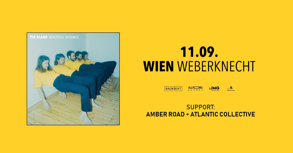 The Bland • Amber Road, Atlantic Collective am 11.09.2019 @ Weberknecht