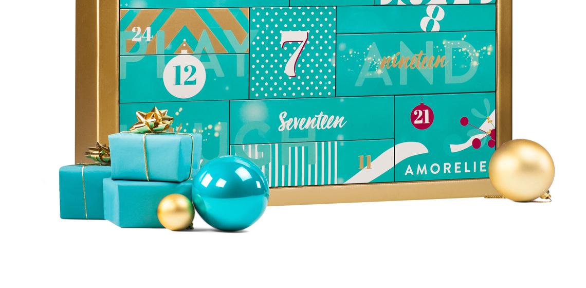 Amorelie premium adventskalender 2017